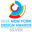 2016 New York Design Awards Silver